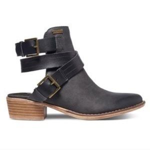 Roxy Prescott Strappy Backless Ankle Boots